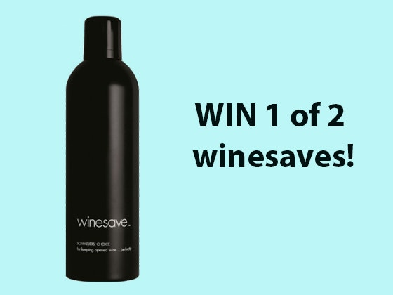 Winesave sweepstakes