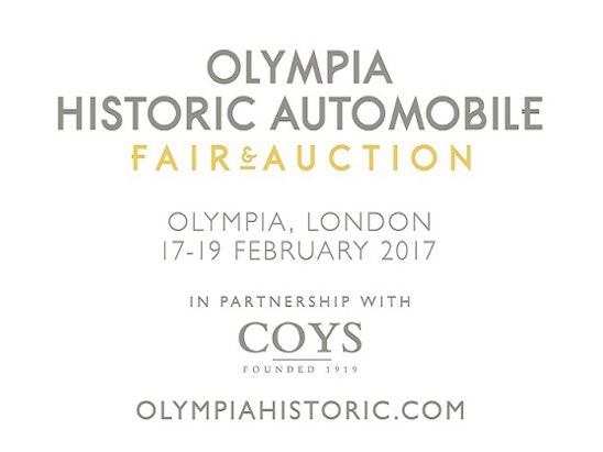 Olympia Historic Automobile Fair & Auction, sweepstakes
