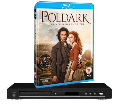 a Poldark box set & Blu-ray player sweepstakes