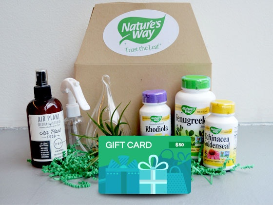 Nature's Way Prize Package sweepstakes