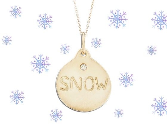 Helen Ficalora Snow Necklace Giveaway sweepstakes