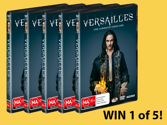 Versailles Season 1 DVD sweepstakes