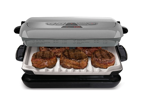 Win a george foreman evolve grill system woman 39 s world - George foreman evolve grill ...