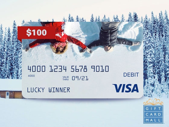 $100 Gift Card from GiftCardMall - Nov.16 sweepstakes