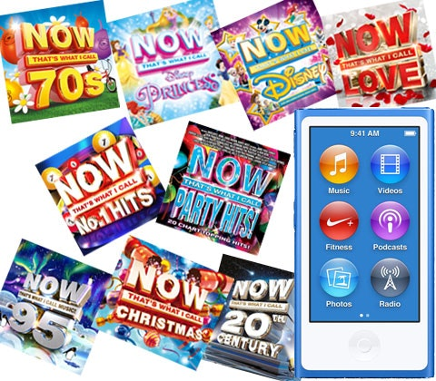 Now cd s ipod nano competition