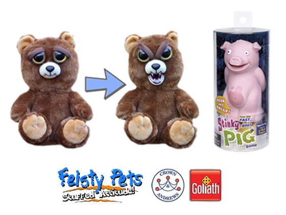 Feisty Pets & Stinky Pig Game Prize sweepstakes