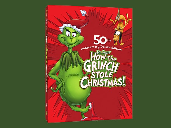 How the Grinch Stole Christmas: 50th Anniversary Deluxe Edition DVD sweepstakes