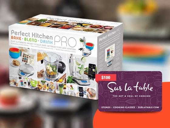 Win a perfect kitchen pro smart scale 100 sur la table for Perfect kitchen pro smart scale and app system