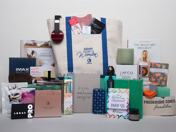 Variety's Power of Women Luncheon Event Gift Bag sweepstakes