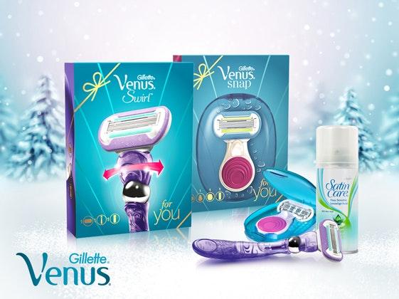 Gillette Venus Geschenksets  Gewinnspiel
