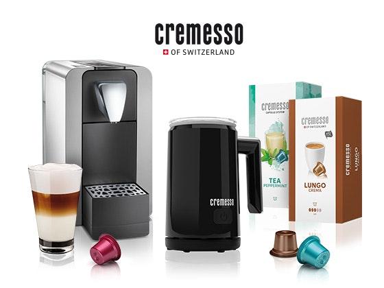 Cremesso Kaffee-Genusspaket   Gewinnspiel