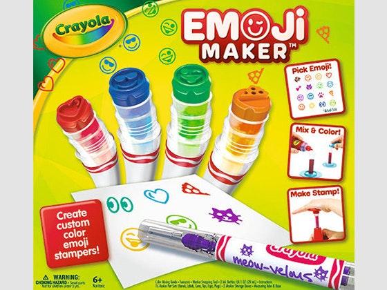 Crayola Emoji Maker sweepstakes