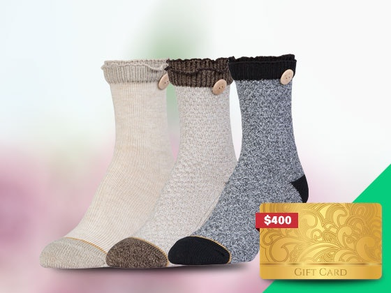 Holiday Prize Pack from GT a Gold Toe Brand sweepstakes