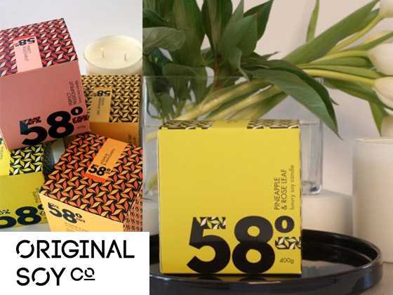 Soy candles 58