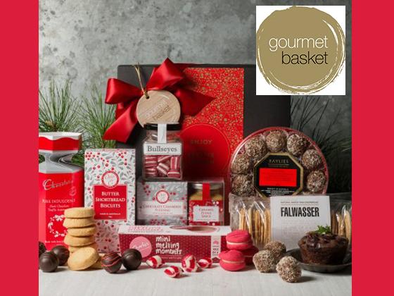 Gourmet Basket Festive Treats Hamper sweepstakes