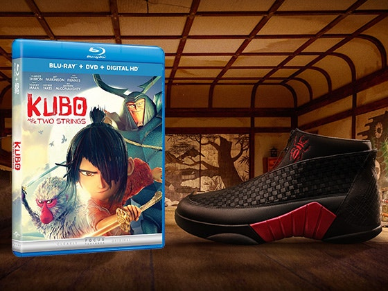Limited Edition Kubo and the Two Strings Nikes sweepstakes