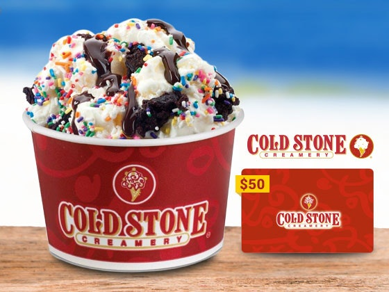 Coldstone giveaway thxgiving 1
