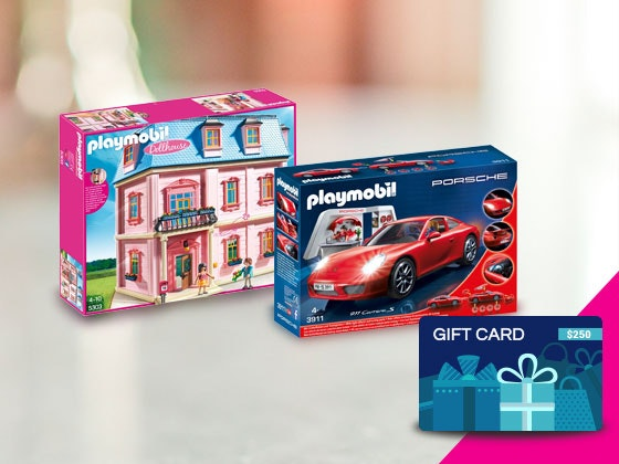 PlayMobil Toy Gift Card sweepstakes