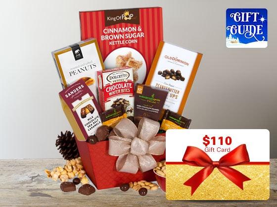 Gourtmet giftbaskets holiday gift guide 1