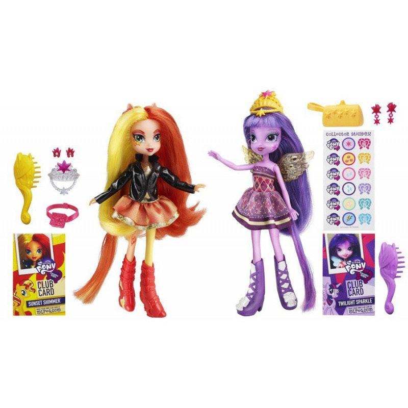 My Little Pony Equestria Girls Sunset i Twilight dwupak sweepstakes