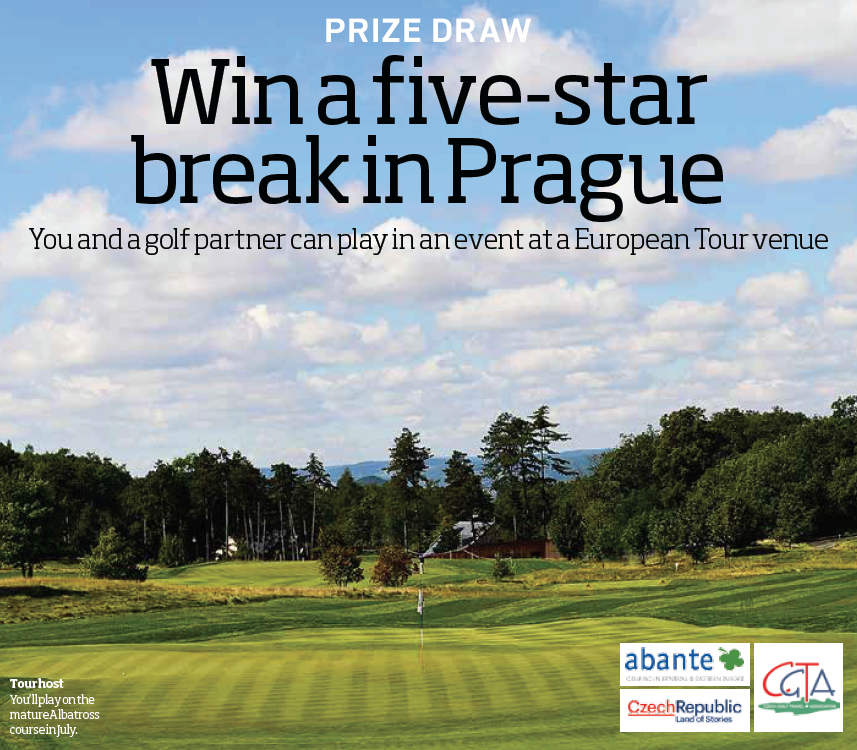 Win a five-star golf break in Prague sweepstakes