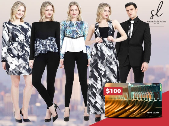 Samantha Leibowitz Clothing Gift Card sweepstakes