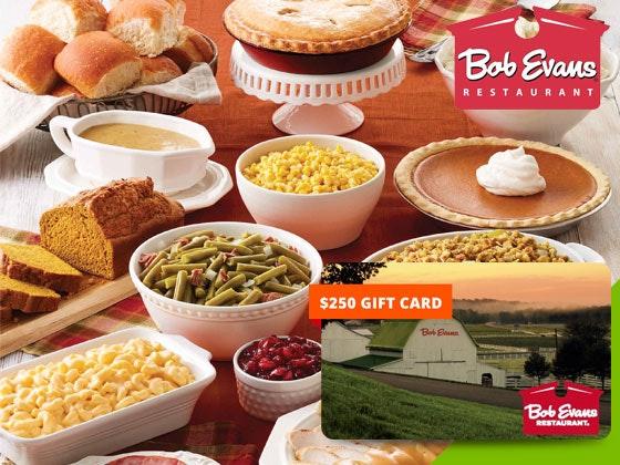 Win a $250 Bob Evans Farms Gift Card Closer Weekly