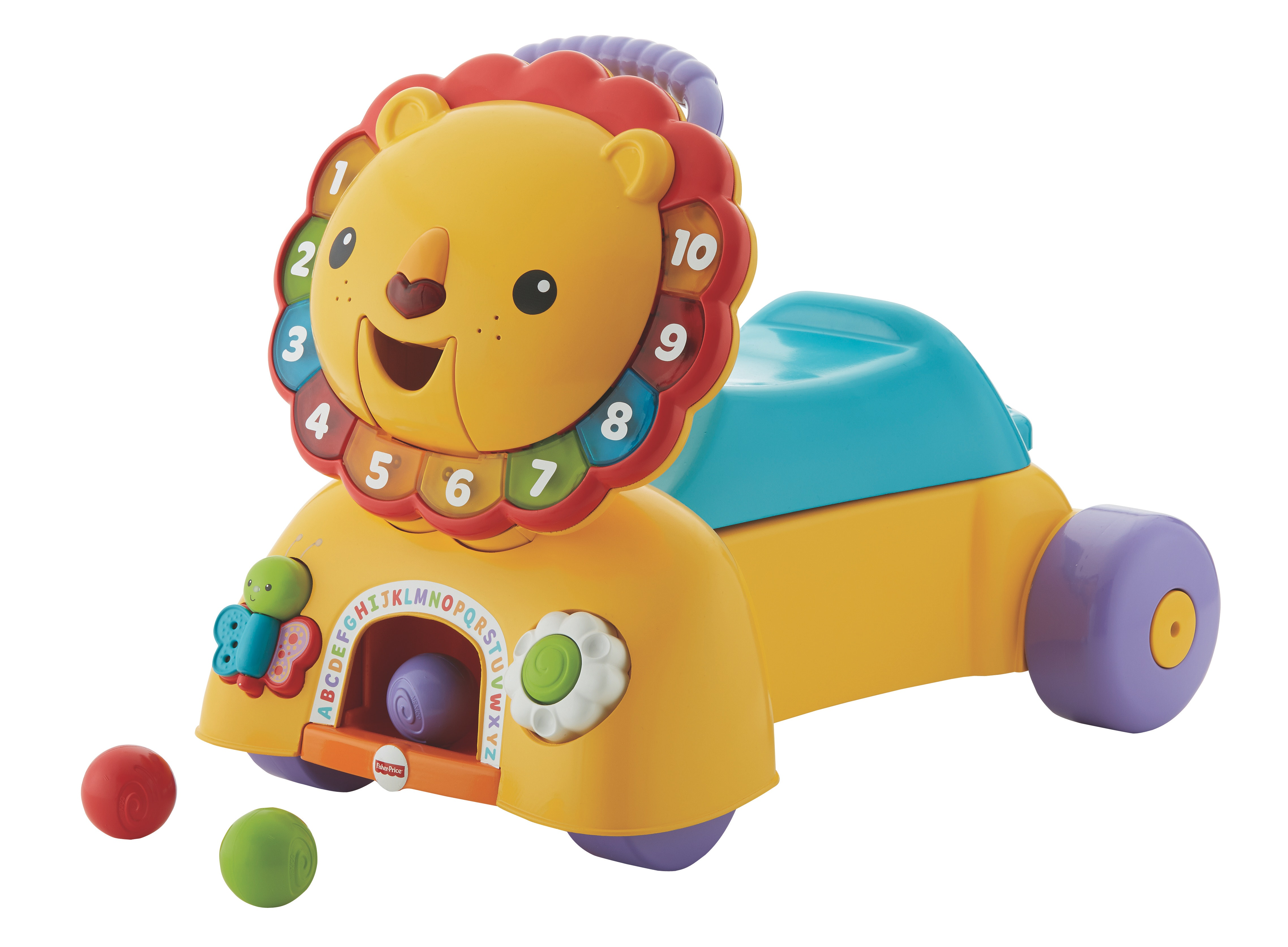 Fisher-Price® 3-in-1 Sit, Stride & Ride Lion sweepstakes