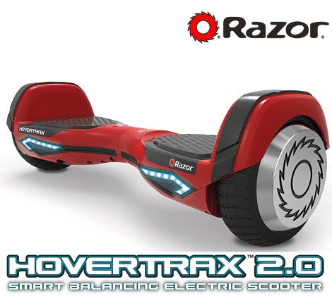 Razor HoverTrax 2.0, helmet, and pads sweepstakes