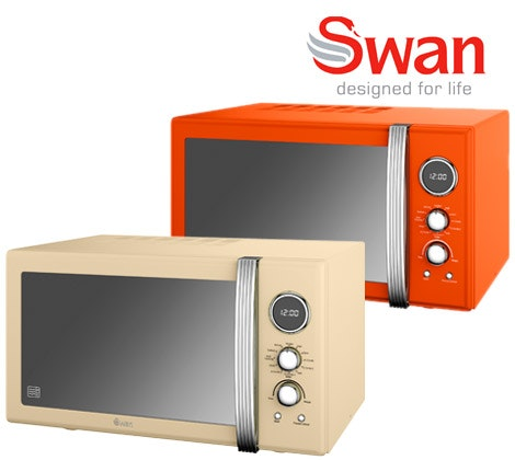 Swan Retro Combination Microwave sweepstakes