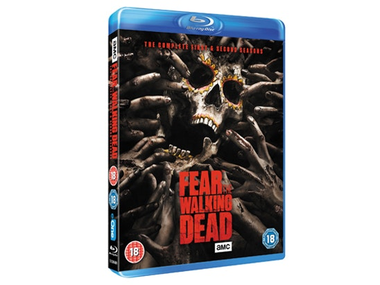 """a 49"""" LG TV & FEAR THE WALKING DEAD: THE COMPLETE FIRST AND SECOND SEASON on Blu-ray™ sweepstakes"""