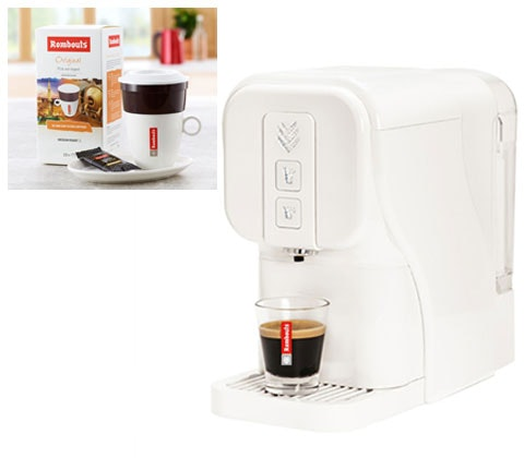 Romnouts coffee machine coffee competition