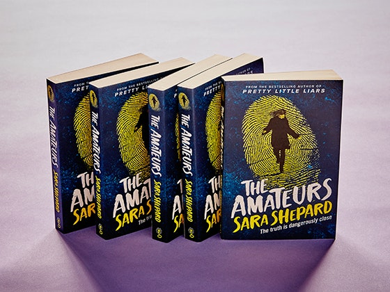 The Amateurs by Sara Shepard sweepstakes