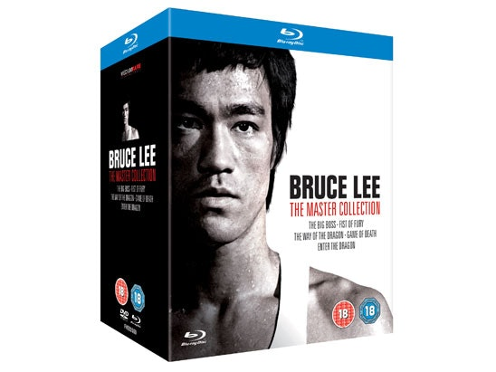 Bruce Lee The Master Collection sweepstakes