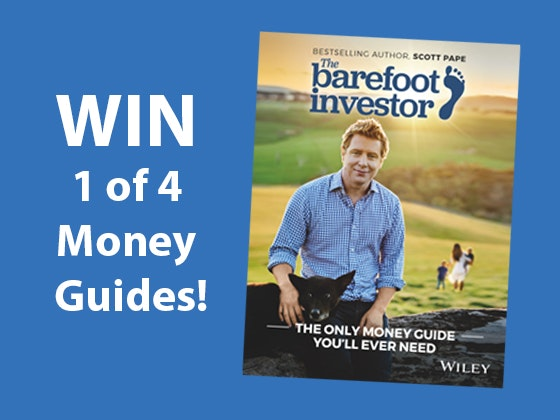 The Barefoot Investor Book sweepstakes