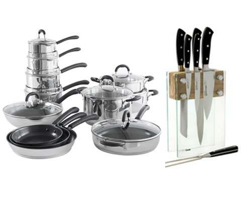 a ProCook cookware & knife set sweepstakes