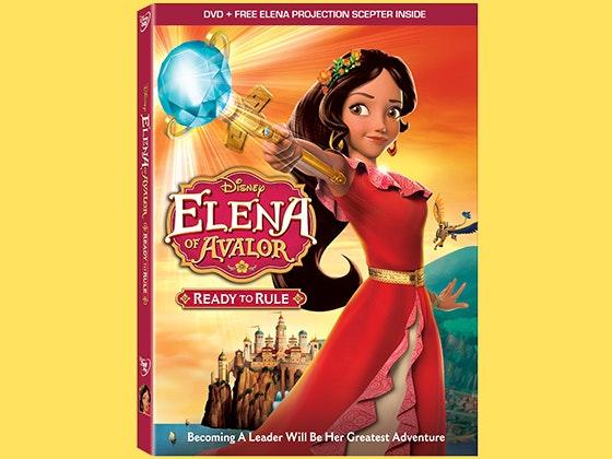 Elena of Avalor DVD sweepstakes