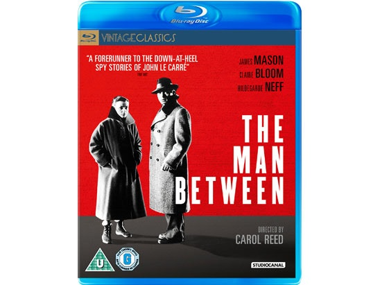 THE MAN BETWEEN Blu-Ray  sweepstakes