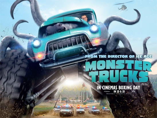Monster Trucks sweepstakes