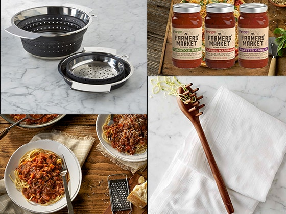 Prego Farmers Market Sauces with Colander and Pasta Fork sweepstakes