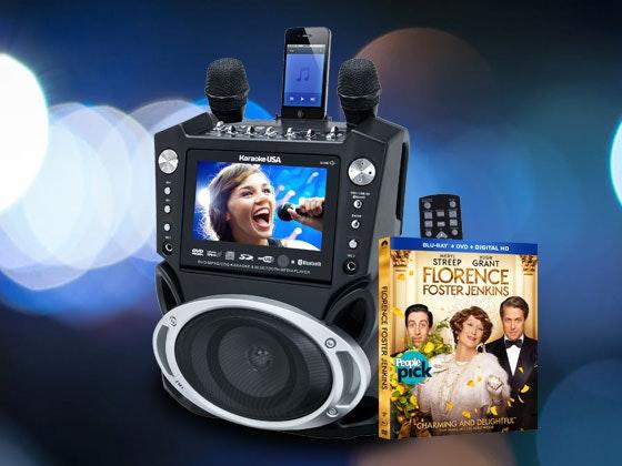 Florence Foster Jenkins and Karaoke Machine sweepstakes
