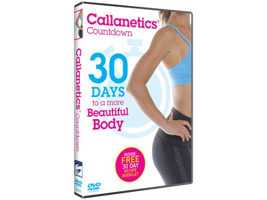The Callanetics Countdown: 30 Days to a More Beautiful Body sweepstakes