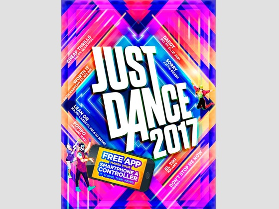 Just Dance 2017 Game sweepstakes