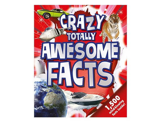 Crazy Totally Awesome Facts book sweepstakes