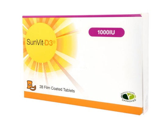 Sunvit-D3 and a Vitamin D test kit sweepstakes