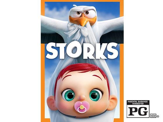 Storks Blu-ray & Digital HD sweepstakes
