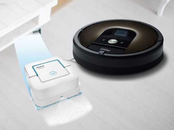 iRobot Roomba and Braava Jet Mopping Robot sweepstakes