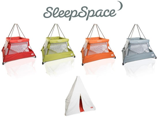 SleepSpace Travel Cot and Teepee Cover Pack sweepstakes
