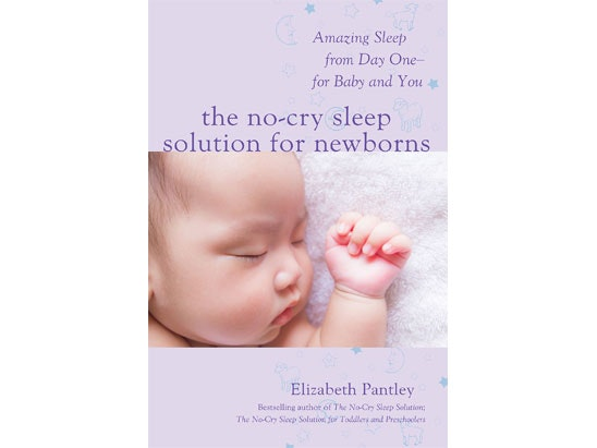 Elizabeth Pantley's The No-Cry Sleep Solution for Newborns  sweepstakes