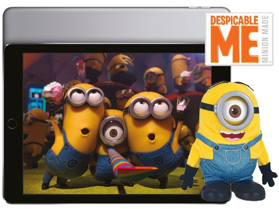 an Apple iPad Air 2 & Minion toys sweepstakes